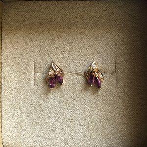 Jewelry - Genuine Ruby Earrings